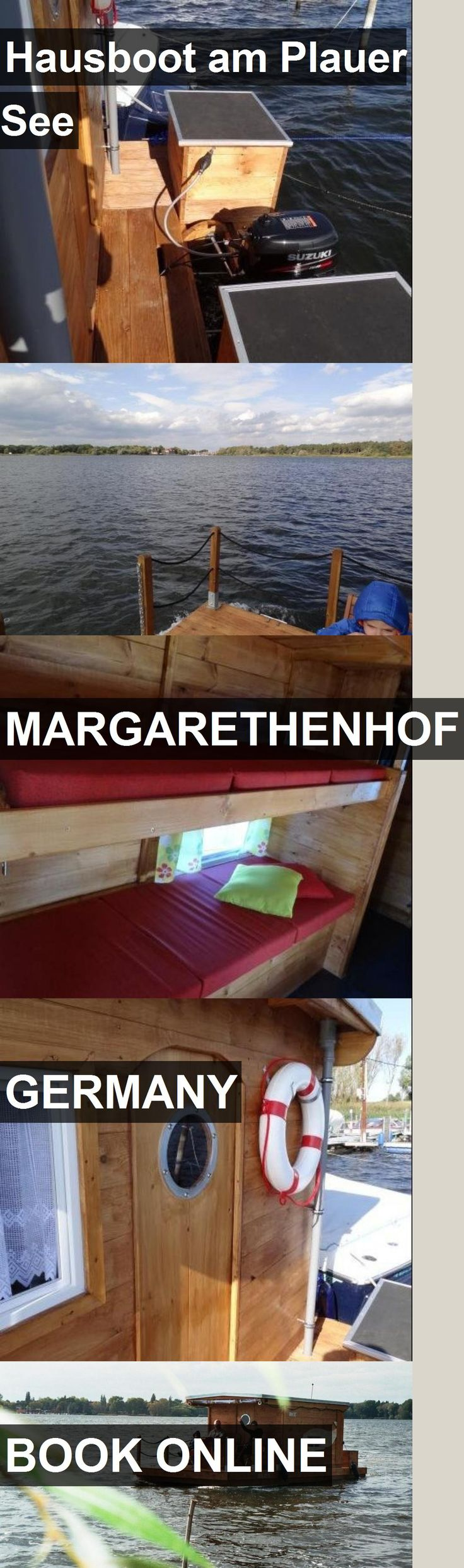 Hotel Hausboot am Plauer See in Margarethenhof, Germany. For more information, photos, reviews and best prices please follow the link. #Germany #Margarethenhof #travel #vacation #hotel