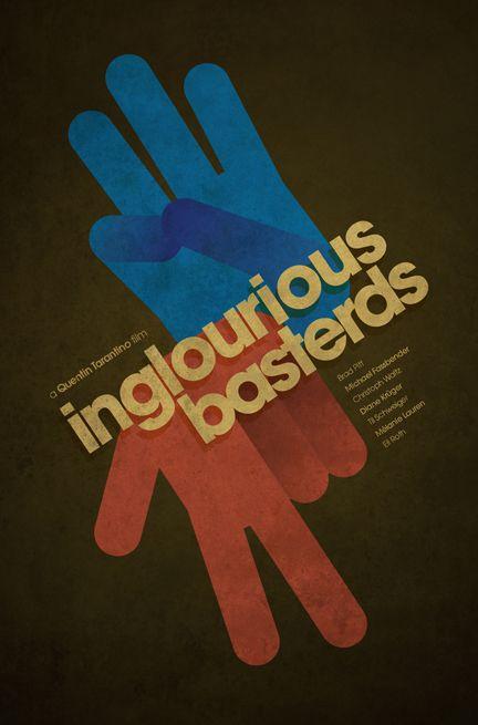 Minimalistic Inglorious Basterds