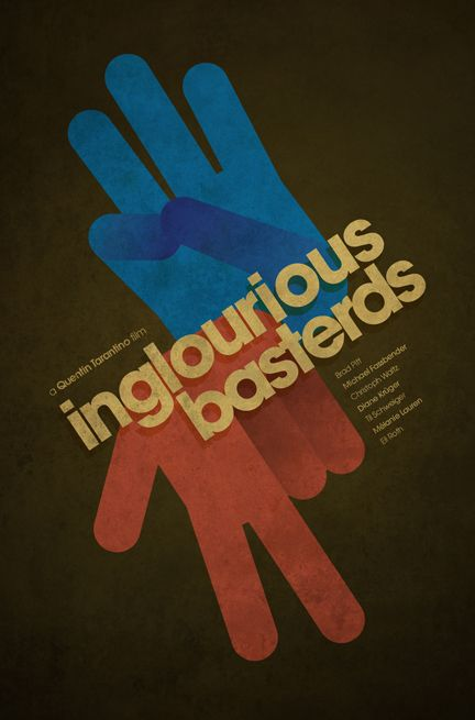 Minimalistic Inglorious Basterds