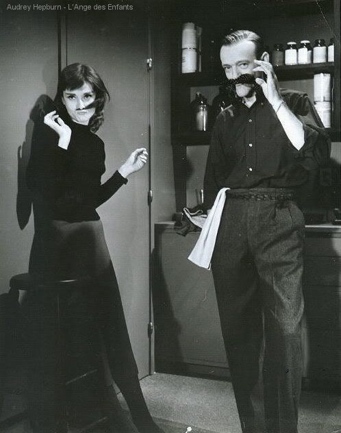 In order to secure Audrey Hepburn and Fred Astaire on the cast, producers told each the other was already signed, figuring they would not pass up the opportunity to work together.  Funny Face (1957)  06/1/13