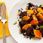 Roasted Beet and Winter Squash Salad With Walnuts | Recipe | Roasted ...