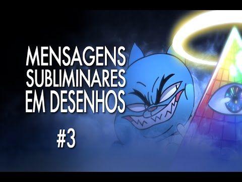 MENSAGENS SUBLIMINARES EM DESENHOS #3 - GUMBALL - POPEYE - SIMPSONS - Jo...