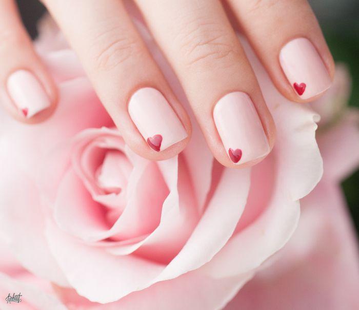 5 Idées de Nail art simples pour la Saint Valentin (+Concours de nail art avec…
