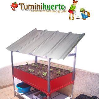Tuminihuerto manualidades mesa de cultivo casera como for Como hacer una mesa de cultivo casera