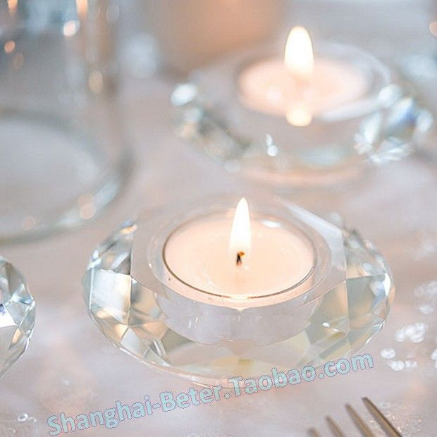 Make Your Table Shine With These Crystal Tealight Holders Add Elegance And Glamour To Any Setting During Or After The Big Day