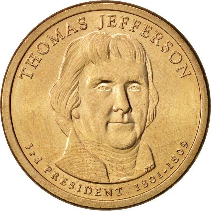 United States, Dollar, Jefferson, 2007, Philadelphia, MS(63), KM:403