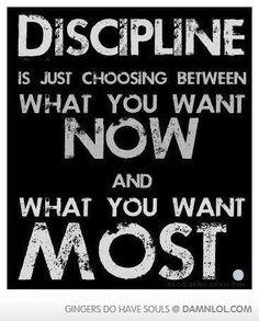 Discipline -