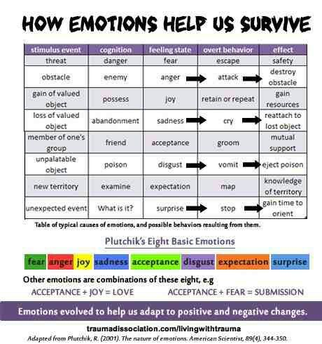 How emotions HELP us survive
