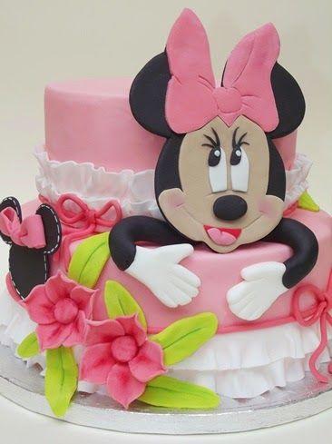 Minnie Mouse torta készítése | A Tortadíszítés Alapjai