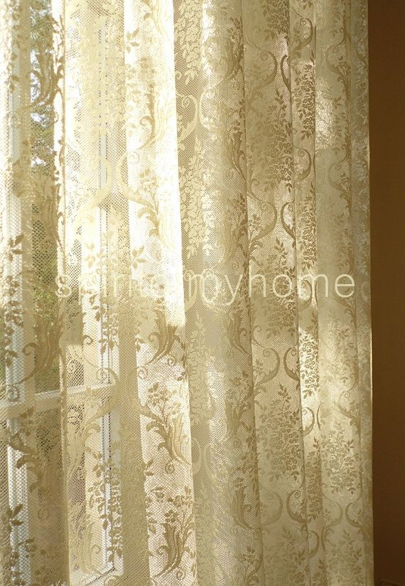 38 best French Net Lace curtains images on Pinterest ...