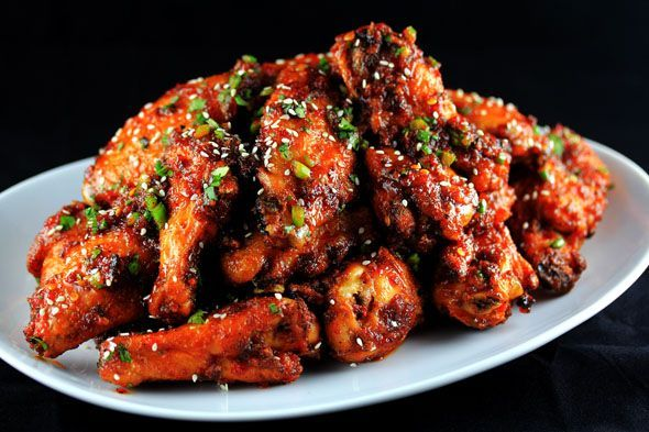 Sweet-n-Spicy Garlic and Ginger Chicken Wings | Carnal Dish