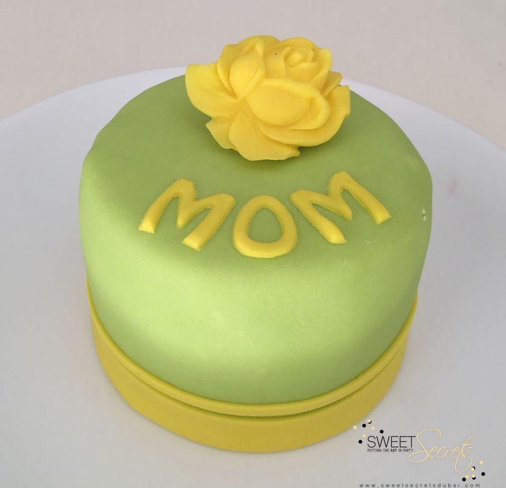 Mom, simple, beautiful. Sweet Secrets, Novelty Cakes Dubai…