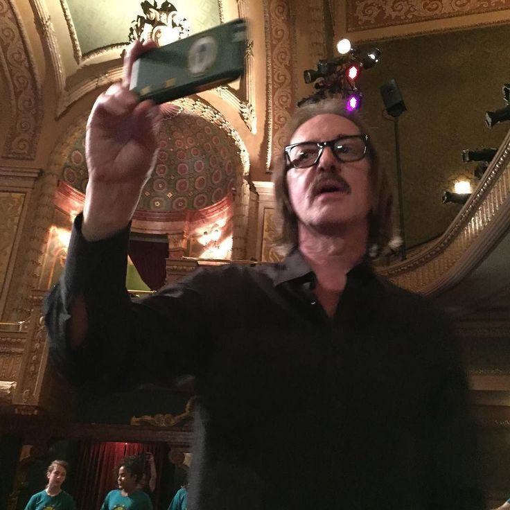 Mr @butchvig enjoying the choir by recording it. Always a performer.. #sxsw #smartstudiosdocumentary #geekout