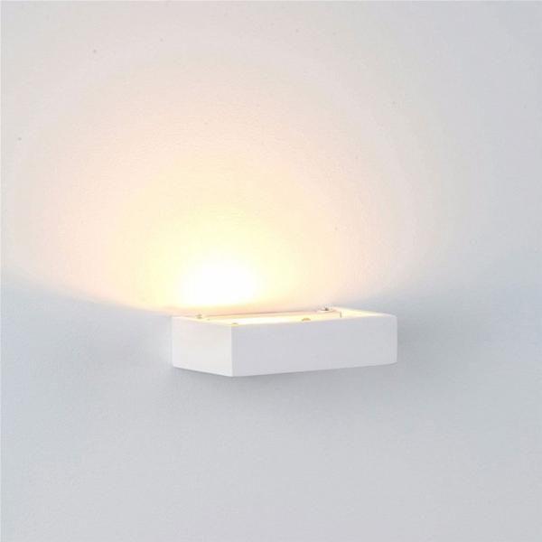 Sleek Profile White Up Wall Light Assorted Sizes Wall Lights Up Down Wall Light Interior Wall Lights