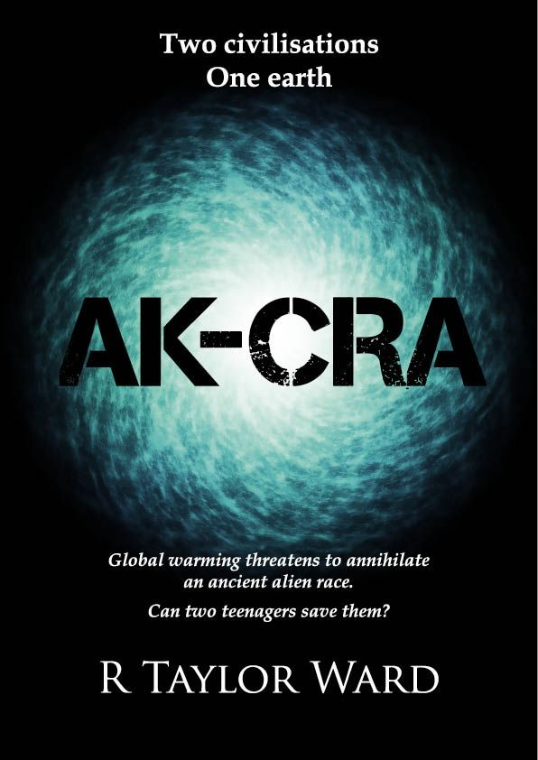 Here it is! The front cover for Ak-cra. Sensational cover design by Sally Jelbert (great work Sal). Not long to publication date now