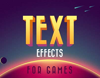"Check out new work on my @Behance portfolio: ""Text Effects For Games 2"" http://be.net/gallery/46842849/Text-Effects-For-Games-2"