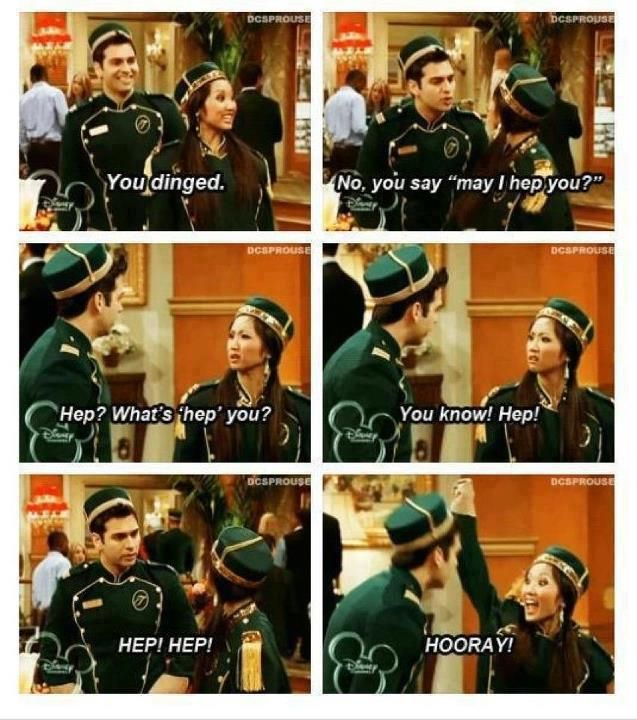 I miss Disney channel. When it was good. When it didn't involve talking fish or 11 year olds in high school smart-mouthing their parents.