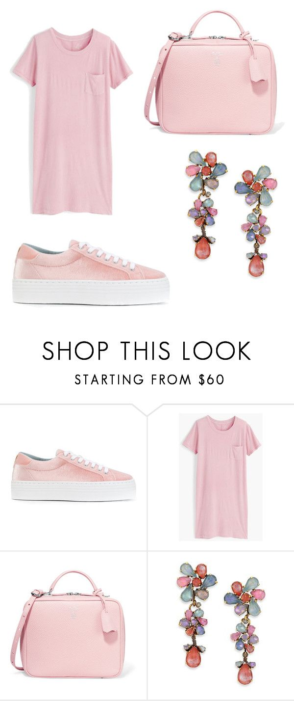 """Untitled #220"" by denysa-boldog on Polyvore featuring Chiara Ferragni, J.Crew, Mark Cross and Erickson Beamon"