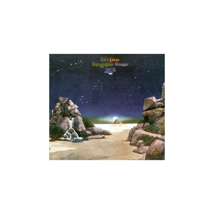 Yes - Tales from topographic oceans (CD)