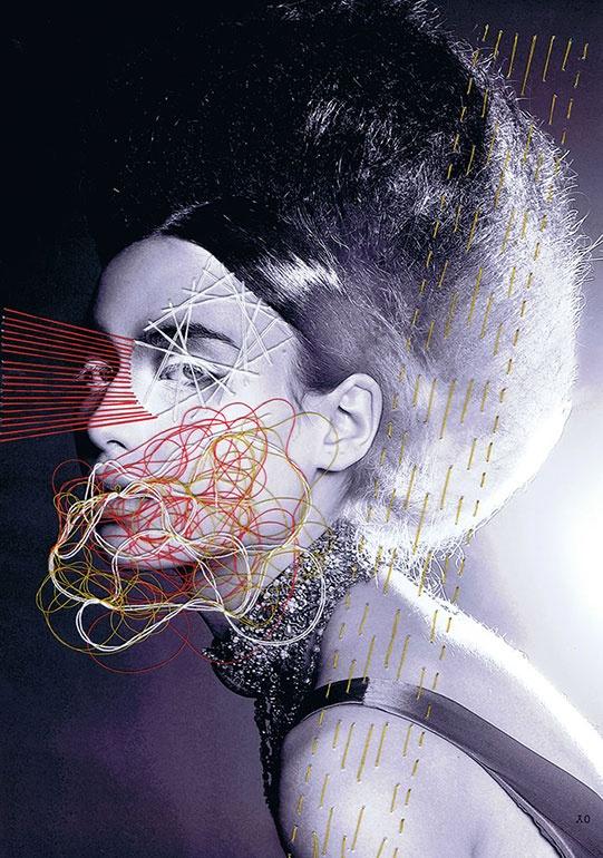 Jaime Travezan, Photographs, Illustration, Embroidery, Inspiration, Final Major, Project, Fashion, Student