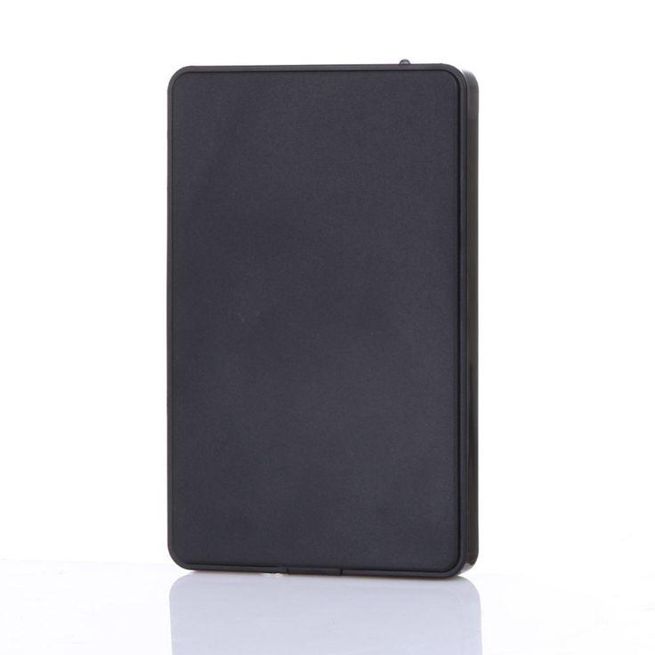 Kualitas tinggi Slim Portabel 2.5 HDD Kandang USB 2.0 Eksternal Hard Disk Kasus SATA Hard Disk Drive HDD Case Plug Dan Bermain