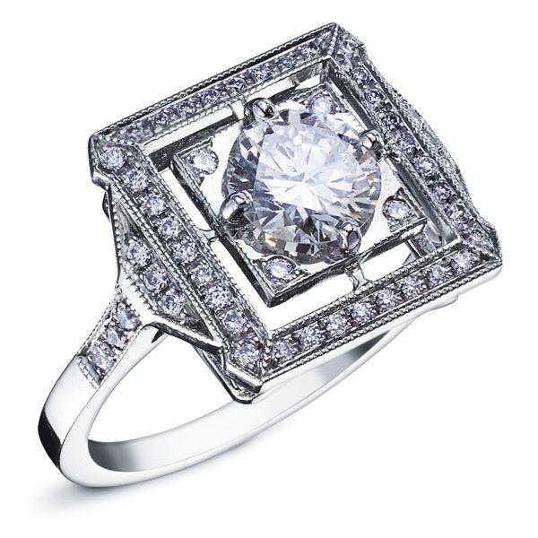 Favori Les 34 meilleures images du tableau Bagues Or Blanc et Diamant sur  VN68