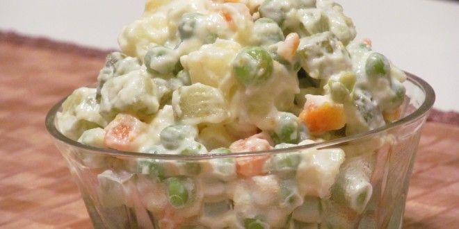 Russian Salad Recipe by Chef Zakir Qureshi   RecipesFab.com