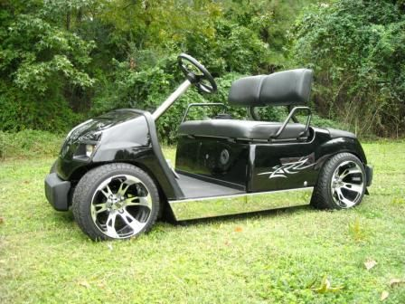 Custom Built Golf Cart With Air Ride Suspension | GOLF WORLD ... on