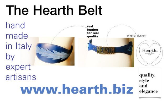 """""""The Hearth Belt"""" by hearthfashion on Polyvore featuring moda"""