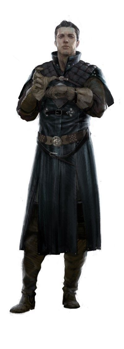 character concept male human traveler messenger noble highrank realistic Dorn Varnak : Architecte du royaume
