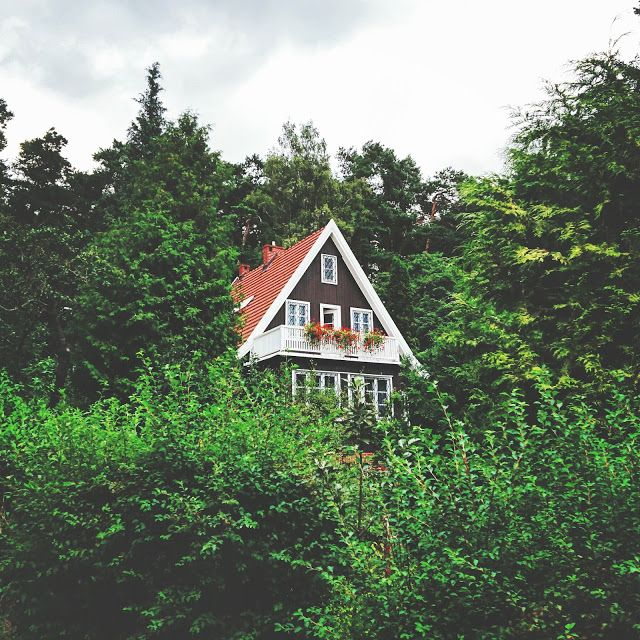 romantic house #romantic #house #travel #traveling #europe #poland #sopot #forest