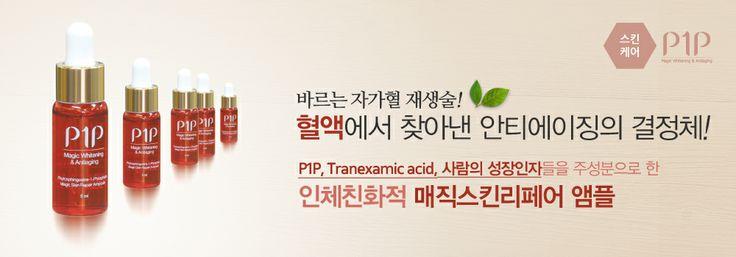 혈액에서 찾은 안티에이징 물질 P1P