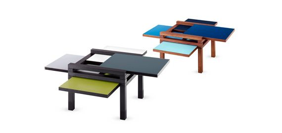 Super awesome coffee tables! perfect for small spaces or for parties! (Italy)