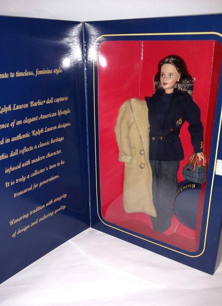 978ae411c4 1996 Bloomingdales RALPH LAUREN Limited Edition BARBIE Doll NRFB  Mattel   Dolls