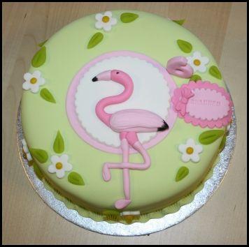 flamingo taart | Fotoshoot
