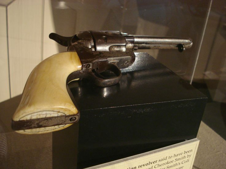 Billy the Kid's Colt Artillery Model Single Action Army Revolver