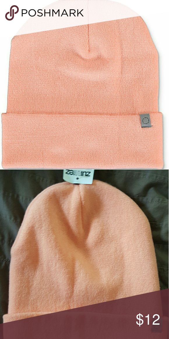 Peach Cuff Beanie! Perfect for the fall and winter seasons! Nice and light peach color! Very snug fit and comfy! Brand new with tags! Empyre Accessories Hats