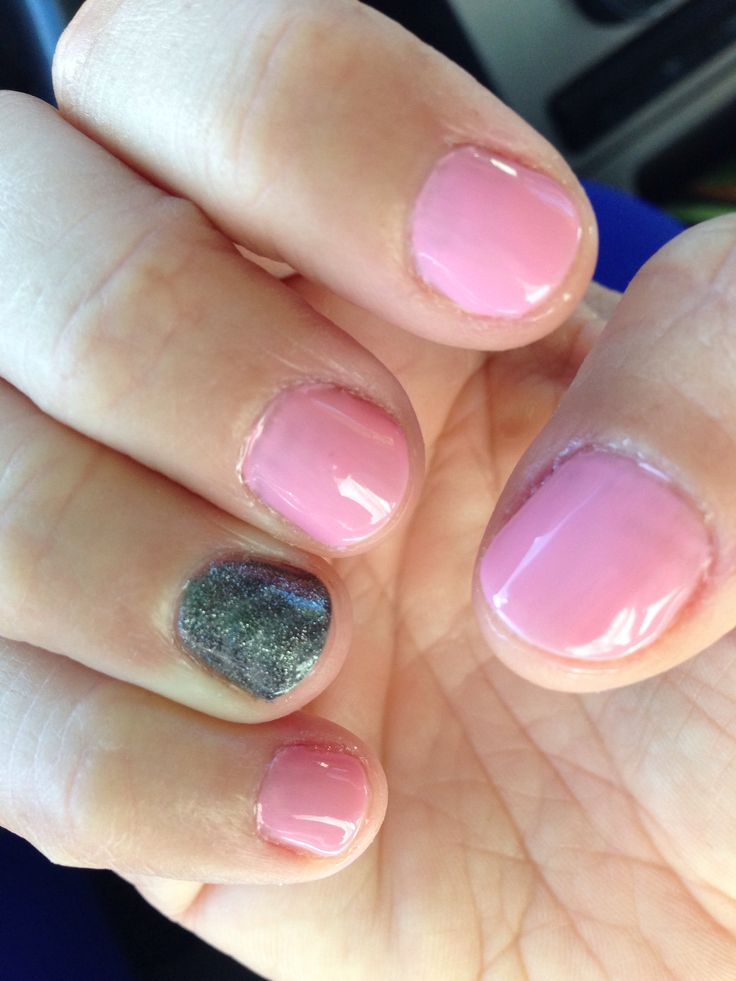 25+ Trending Simple Gel Nails Ideas On Pinterest