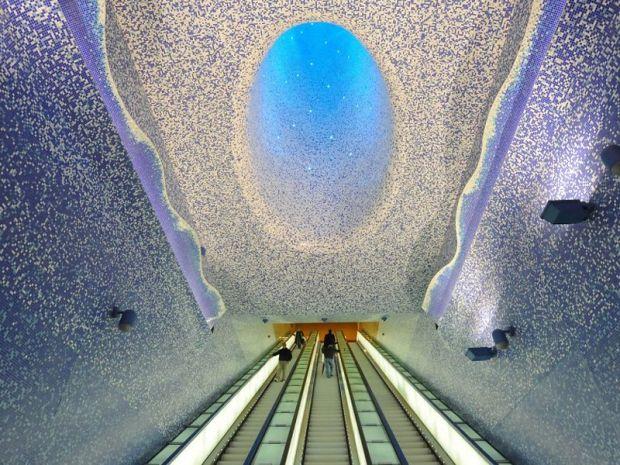 la metropolitana di stoccolma