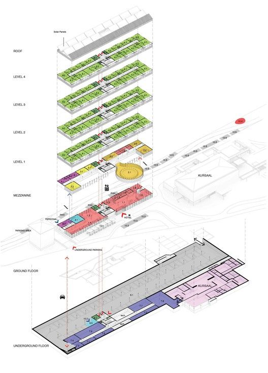 Gallery of Hotel Park and Seeallee Heiden Competition Entry / Kubota & Bachmann…