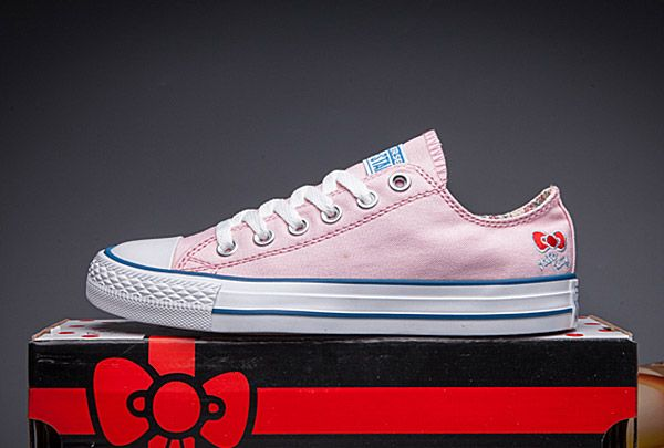 Pink Hello Kitty x Converse Chuck Taylor All Star Low #converse #shoes