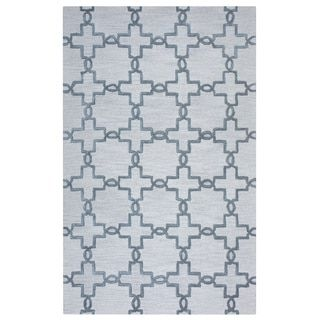 Shop for Arden Loft Lisbon Corner Beige/ Light Grey Geometric Hand-tufted Wool Area Rug (10' x 14'). Get free shipping at Overstock.com - Your Online Home Decor Outlet Store! Get 5% in rewards with Club O! - 17622863