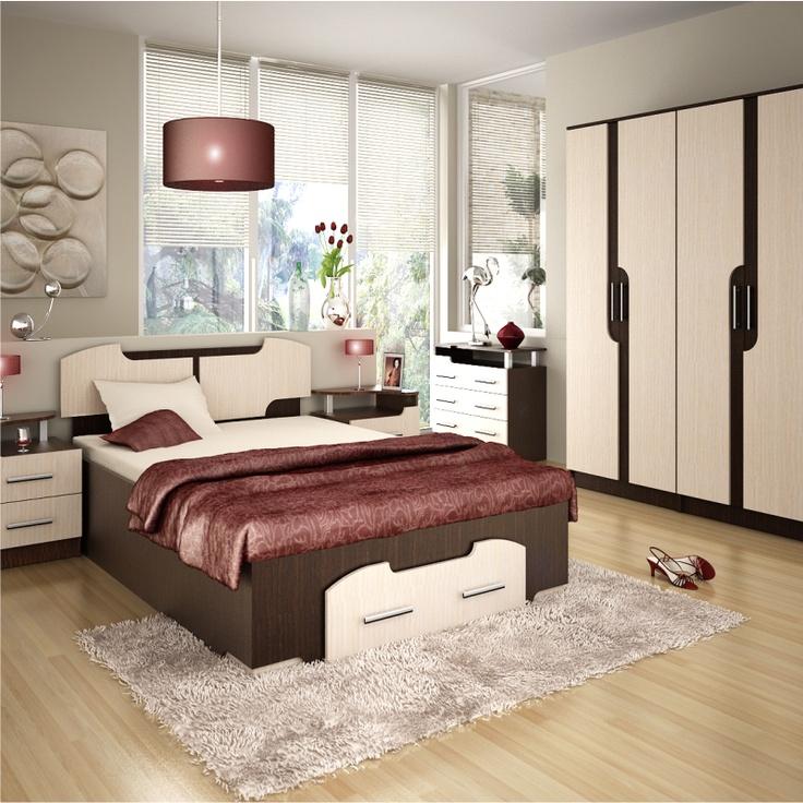 Mobila Dormitor TERRA 140cm