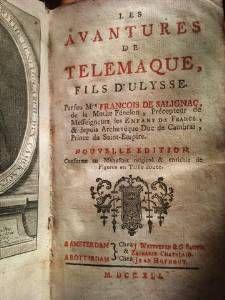 Les aventures de Télémaque, fils d'Ulysse (Edition 1712) Prix non fixé
