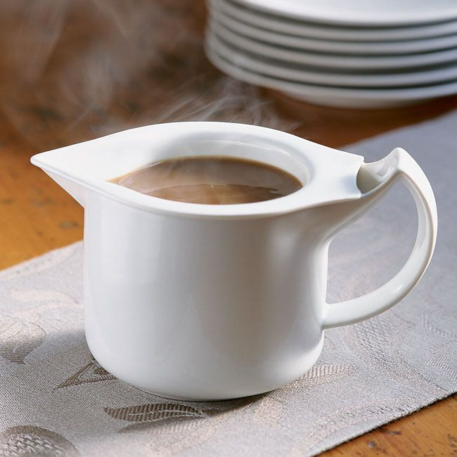 Gravy Boat Warmer ~ Just found this porcelain pitchers warming pitcher for