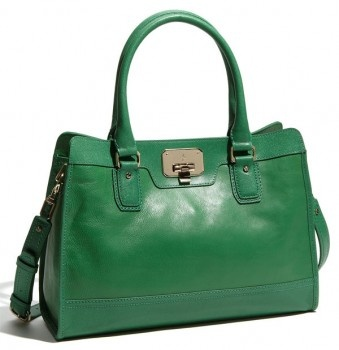 cute Cole Haan kelly green satchel.  Perfect pop of color to add to your wardrobe without making a loud statement with a bold pattern.  It can still coordinate with your wardrobe while adding some flair.: Pur Handbags, Cole Haan, Vintage Vali, Nordstrom Sho, Fashion Accessories, Leather Totes, Green Bags, Leather Bags, Haan Vintage