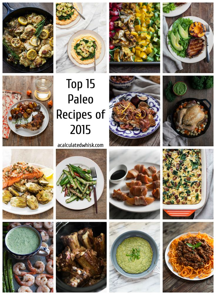 Top 15 Paleo Recipes of 2015 (Whole30