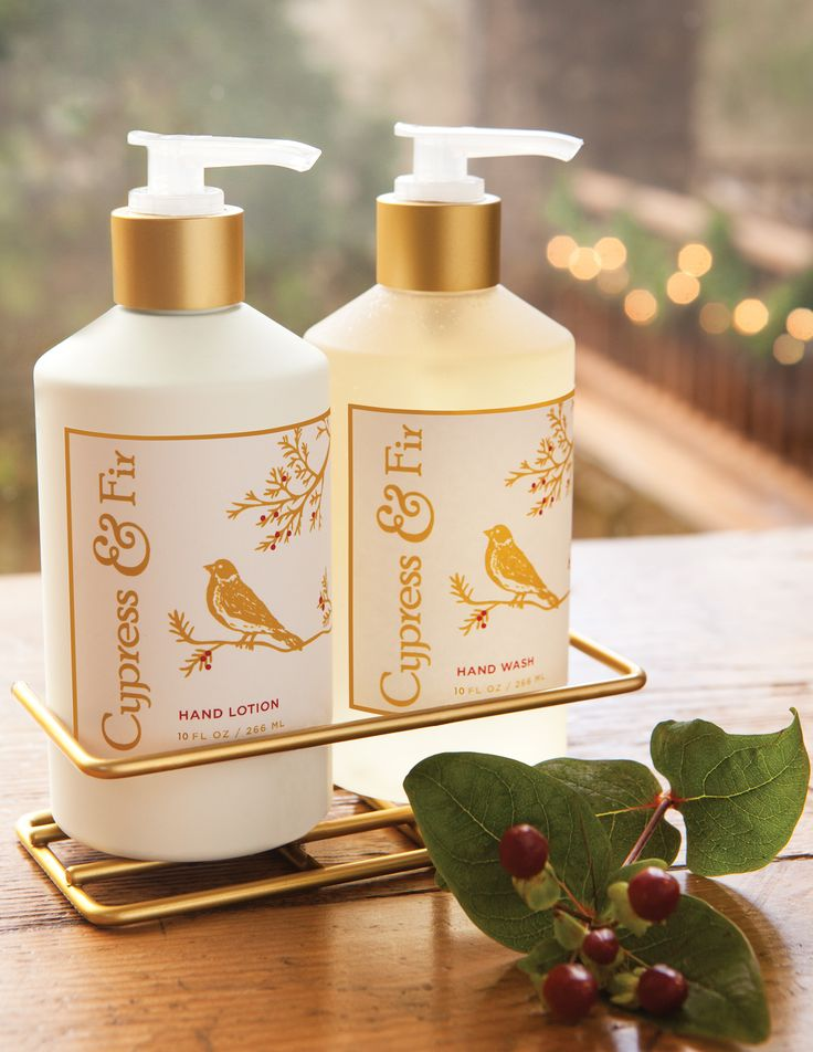 Hand & Body Wash & Lotion