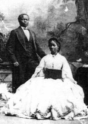 Panache Report.com Lady Sarah Forbes Bonetta was born into a royal West African dynasty and was orphaned in 1848 when she was five years old.  She became the Queen of England's goddaughter and a celebrity known for her extraordinary intelligence. She would later marry Captain James Davis (pictured above).  He was an extremely rich businessman from Yoruba.