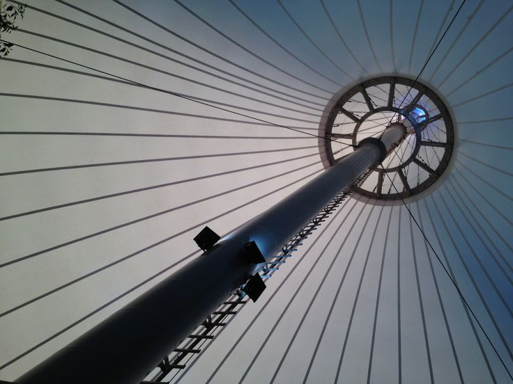 """Not often do we go to a restaurant and be fascinated by the roof structure/ceiling.   Well, that's exactly the case at the """"Pavilion"""" in Wagga Wagga in Regional NSW, Australia … soaring like a huge circus big top.   Exhilarating … and the food was very good."""